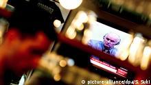 TV Screen Bildschirm Ratko Mladic Den Haag