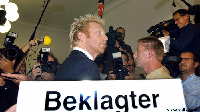 Boris Becker - Karnevalsfigur