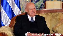 Karolos Papoulias ehemaliger griechischer Präsident
