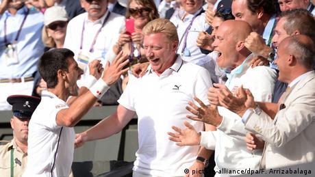 Wimbledon Championships Boris Becker