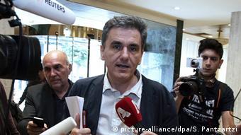 Griechischenland Euclid Tsakalotos wird neuer Finanzminister