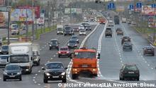Russland Autobahn in Moskau