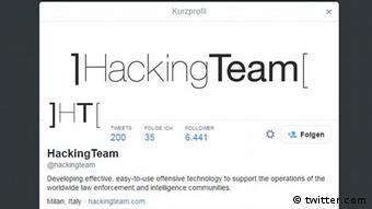 Screenshot Hacking Team