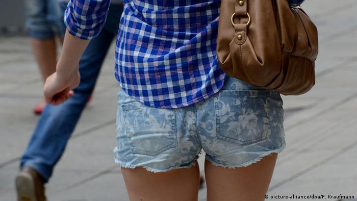 Symbolbild Hotpants