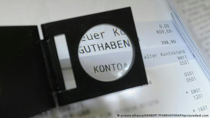 Symbolbild Österreich schafft Bankgeheimnis ab