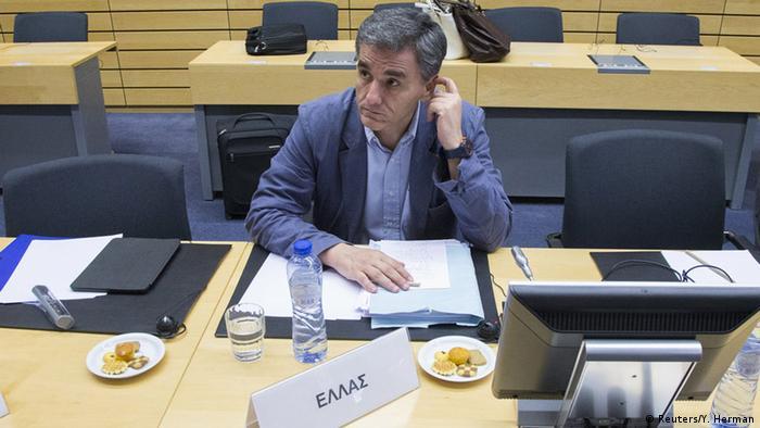 Brüssel, neuer griechischer Finanzminister Euclid Tsakalotos