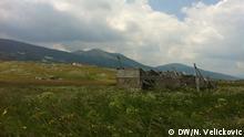 1.7.2015 Die Felder (Hochland) in der Nähe von Stadt Kupres (Bosnien und Herzegowina, 1.7.2015) Copyright: DW/N. Velickovic via Azer Slanjankic, DW Bosnisch
