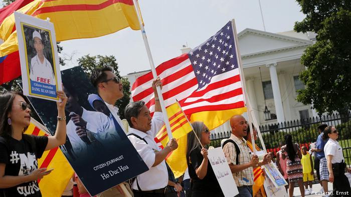 USA, Protest gegen Nguyen Phu Trong