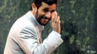 Der iranische Präsident Mahmoud Ahmadinejad