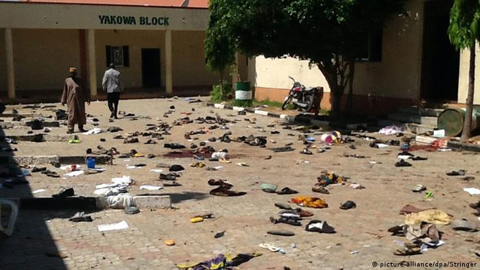 Nigeria, Selbstmordattentat in Zaria (picture-alliance/dpa/Stringer)
