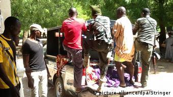 Nigeria, Selbstmordattentat in Zaria (picture-alliance/dpa/Stringer)