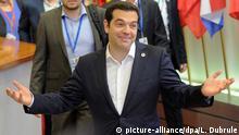 Belgien Alexis Tsipras in Brüssel