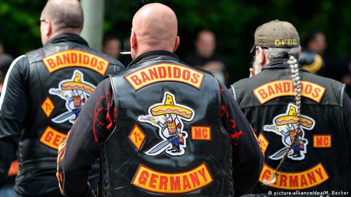 Bildergalerie Rocker Motorradclubs Kutten Kuttenverbot Bandidos