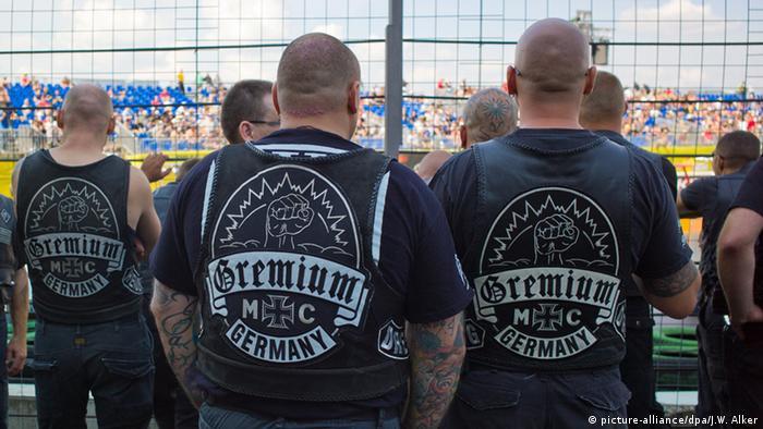 Bildergalerie Rocker Motorradclubs Kutten Kuttenverbot Gremium