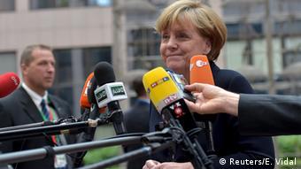 Brüssel Belgien EU Parlament Griechenland Krise Angela Merkel