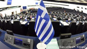 Straßburg EU Parlament Griechenland Krise