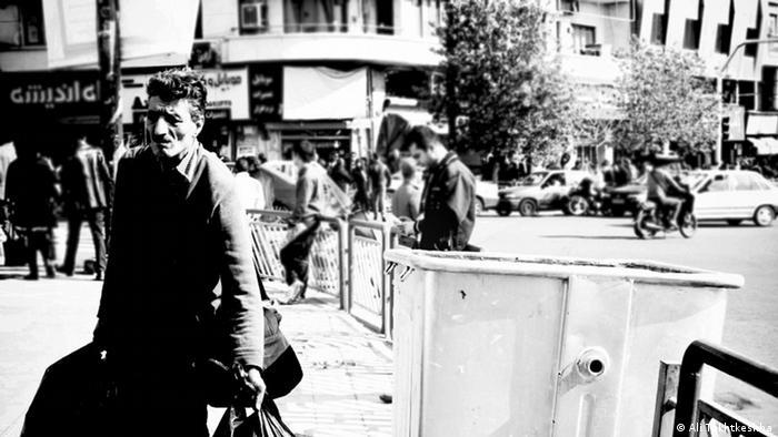 عکس+سیاه+و+سفید+مرد+تنها