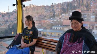 Seilbahn in La Paz (Foto: Olivia Mettang).