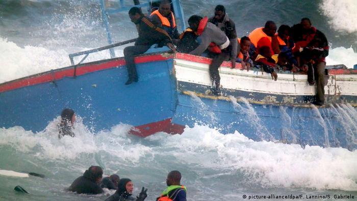 Flüchtlingstragödien auf hoher See