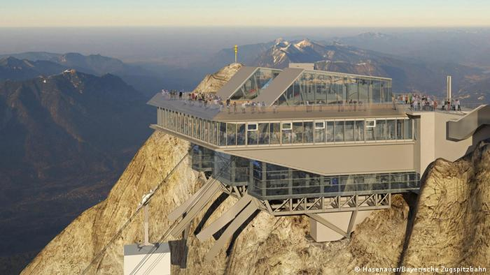 Zugspitze Cable Car Of The Future Dw Travel Dw 08