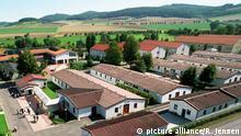 Blick auf das Lager Friedland