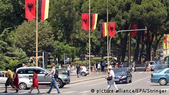Albanien Tirana Besuch Angela Merkel