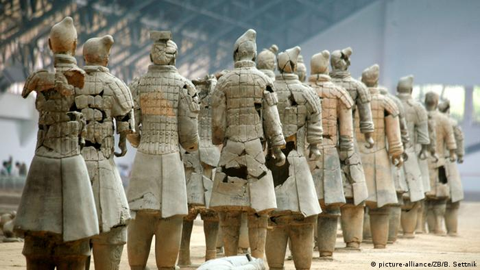 China Terrakotta Armee von Xiang