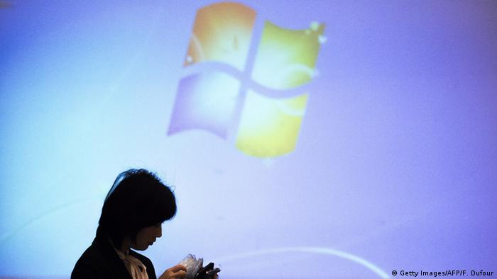 Symbolbild Microsoft streicht Jobs (Getty Images/AFP/F. Dufour)