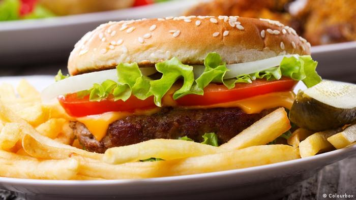 Fast Food Hamburger