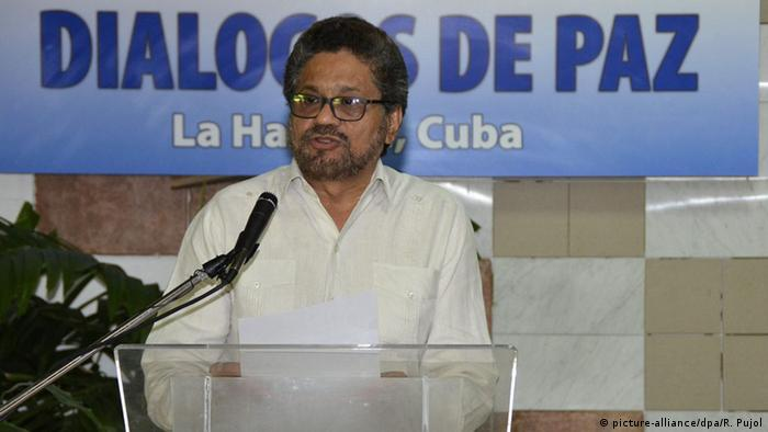 FARC Kolumbien Negoziation Ivan Marquez
