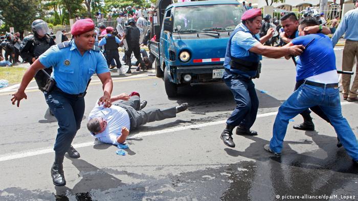 Nicaragua Opposition Demonstration in Mangua