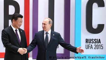 Russland 7. Gipfel der Brics-Staaten in Ufa