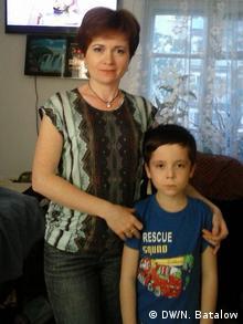Татьяна Сетдарова с сыном