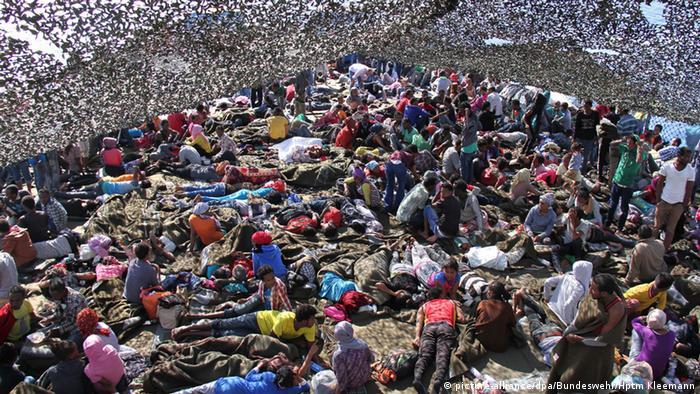 Flüchtlinge im Mittelmeer (Symbolbild)