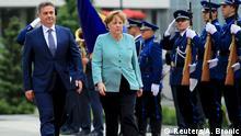 Angela Merkel Sarajevo Denis Zvizdic