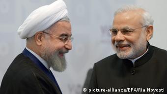 Hassan Rouhani und Narendra Modi