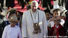 Papst Franziskus in Bolivien