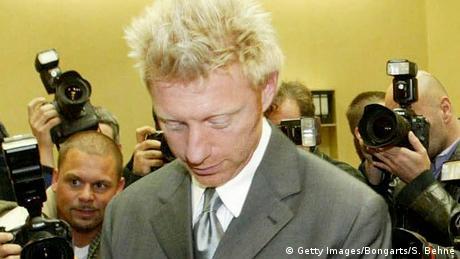 Boris Becker vor Gericht