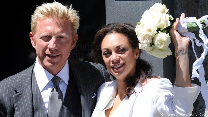 Борис со второй женой