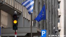 Symbolbild Griechenland Europa EU Flaggen Flagge NEU