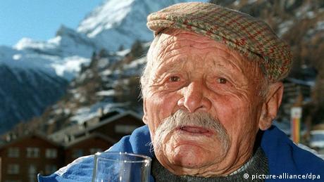Schweizer Bergführer Ulrich Inderbinen