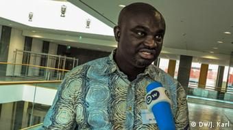 Klima-Koordinator Peter Dery aus Ghana (Foto: DW/J. Karl)
