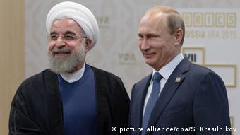 Russland Iran Treffen Putin Rohani