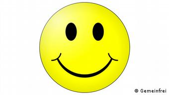 Smiley-Symbol, Foto: https://en.wikipedia.org/wiki/Smiley#/media/File:Smiley.svg