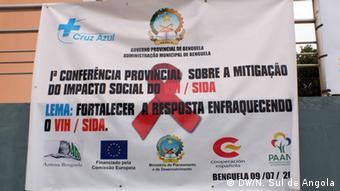 Konferenz über HIV-AIDS in Benguela, Angola