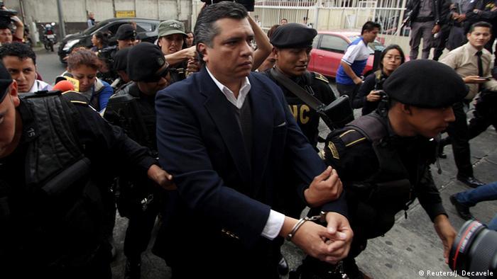 Gustavo Martínez, otro ex alto funcionario detenido en Guatemala