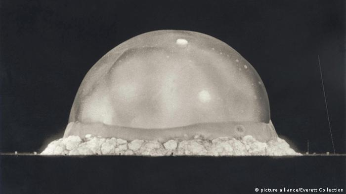 USA New Mexico Atombombentest Trinity Juli 1945