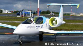 Электрический самолет Airbus E-Fan