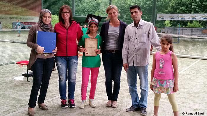 Die Familie Al Zoubi