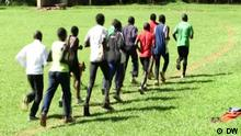 Screenshot DW News Young Ugandan athletes